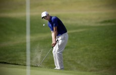 Fisher leads despite first tee slip-up in Portugal