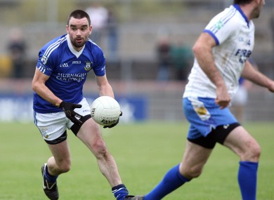 Ryan McMenamin is chasing success in the Tyrone county final this weekend.