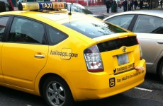 Photo: This Dublin taxi dressed up for Halloween
