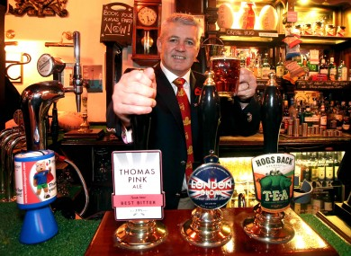Warren Gatland pictured at a British and Irish Lions photocall in London yesterday.