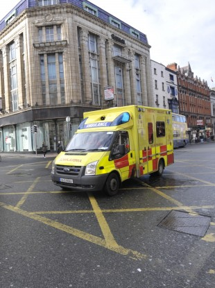 A Dublin Fire Brigade ambulance (File photo)