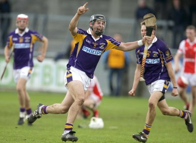 Bill O'Carroll celebrates Kilmacud Crokes' win in the Dublin SHC final. Can Crokes do it against Oulart-the-Ballagh on Sunday?