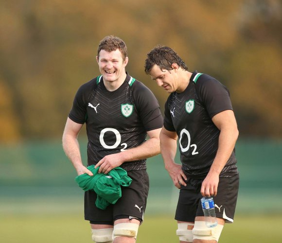 Donnacha Ryan and Mike McCarthy 8/11/2012