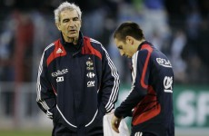 Domenech takes aim at French 'divas'