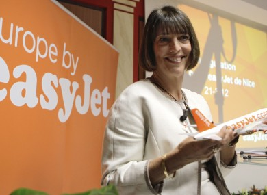 European budget airline easyJet Chief executive Carolyn McCall