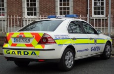 Garda patrol car set on fire in Kildare