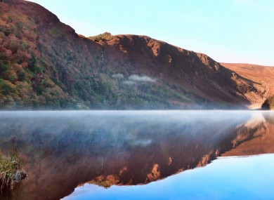 Glendalough, Co Wicklow, a major tourist attraction.