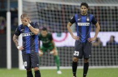 Inter Milan: Wesley Sneijder won't play until contract dispute is settled