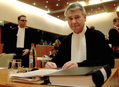 A file photo of lawyers at the ECJ in Luxembourg. An ECJ advocate-general will issue an opinion next week on whether Ireland could have to change its VAT laws.