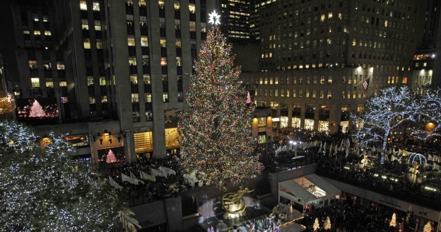 Photos: Rockefeller Center Christmas lights turned on (with help from the Muppets)