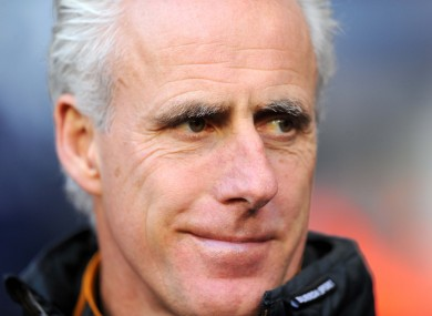Mick McCarthy: back in the game.