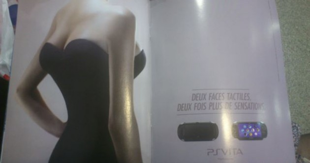 Playstation ad compares new console to woman with four breasts