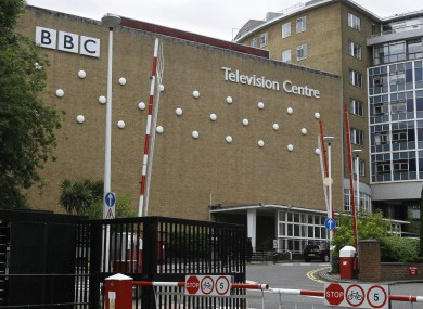 BBC's Television Centre in London 