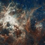 Panoramic view of a turbulent star-making region, captured by the Hubble telescope. Image: NASA Goddard/Flickr.