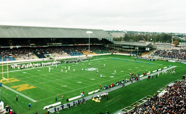 A general view of the match 11/2/1996