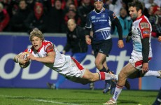 VIDEO: This Andrew Trimble try was the best thing about Ulster's win over Leinster
