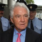 Former Anglo Irish Bank boss Sean Fitzpatrick was charged with 16 offences related to alleged fraud at the bank. (Image: Niall carson/PA Wire)