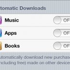 This is a handy feature if you have a lot of Apple devices. You can make it so that apps and music automatically download on all your devices.