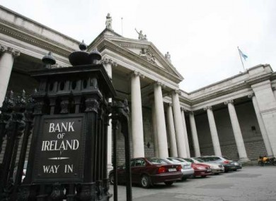 Bank of Ireland in Dublin (File photo)