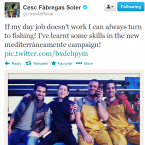 One of the best footballers on the planet, Fabregas' opinion is therefore very much worth listening to.