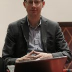 Also all smugness and light is numbers geek Nate Silver who correctly predicted the presidential winner in all 50 US states this year, as well as almost all of the Senate races, securing his place in statistician lore. (AP Photo/Nam Y. Huh)