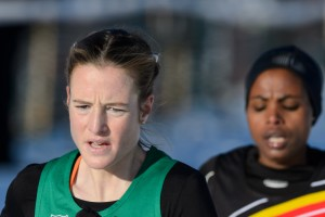 Fionnuala Britton has a silver to go with her double Euro cross country golds.