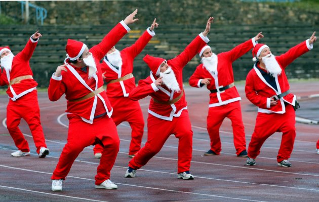 Great Edinburgh Santa Run