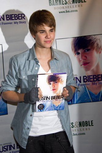 Justin Bieber Book Signing - New York