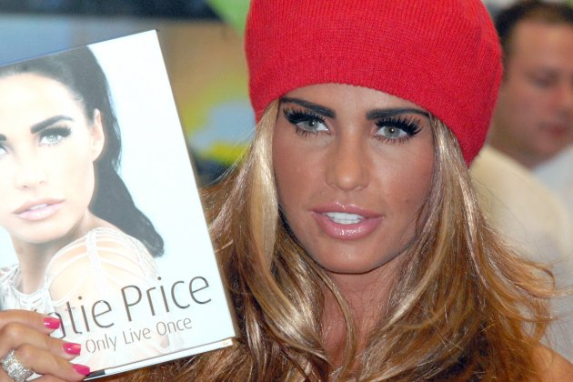 Katie Price book signing - Derbyshire