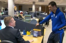 VIDEO: Rob Kearney helps out Darragh Maloney with his writer's block
