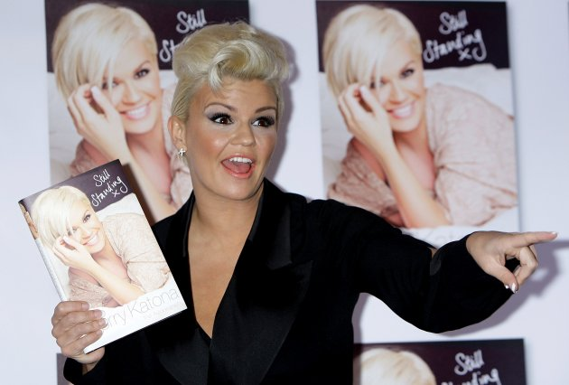 Kerry Katona Book Launch - London