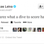 Interestingly, Lucas Leiva is not afraid of mocking his teammates on the site.