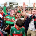 Chelsea's Champions League victory inspires Mayo fans to celebrate their provincial final win in a unique manner. (INPHO/James Crombie).