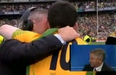 VIDEO: Martin McHugh recalls the magic moment he embraced his All-Ireland winning son last September