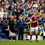 A legend enters the fray. Padraic Joyce comes on as Galway thump Roscommon in their Connacht opener. By the end of the season, Killererin player Joyce has hung up his inter-county boots. (INPHO/James Crombie)