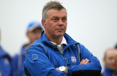 Darren Clarke wrestling with swing changes