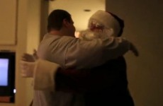 VIDEO: An amazing visit from Santa Claus