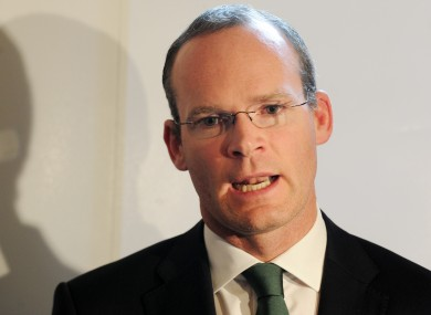 File photo of Minister Simon Coveney.