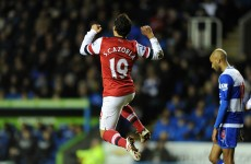 As it happened: Reading v Arsenal, Premier League
