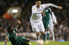 As it happened: Tottenham v Panathinaikos, Europa League