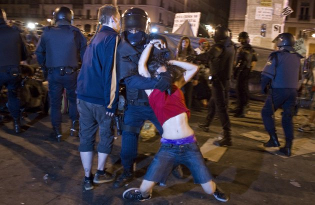 Spain EU Austerity Protests