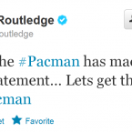 Unlike many footballers, Routledge is actually quite good at interacting with members of the general public.