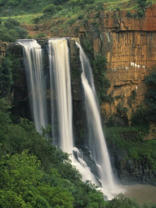 South African Mpumalanga waterfall.