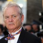 Bill Murray is not amused. (AP Photo/Joel Ryan)