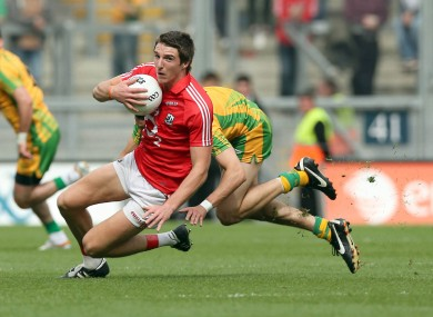 Aidan Walsh in action in last year's All-Ireland senior football semi-final.