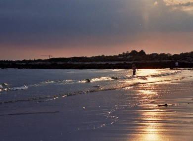 Silver Strand in Barna, Co Galway.