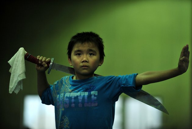 China's Child Athletes train at Amateur Sports School