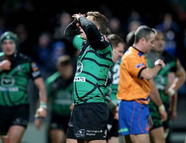 Dan Parks dejected 29/12/2012
