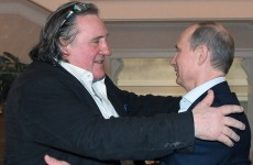 Gerard Depardieu officially gets Russian passport and meets Putin