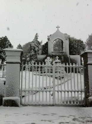 Reader Darren Englishby's photo shows heavy snow at Glencullen, near the Dublin-Wicklow border.